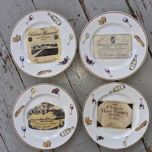 Italian Rosanna Plates